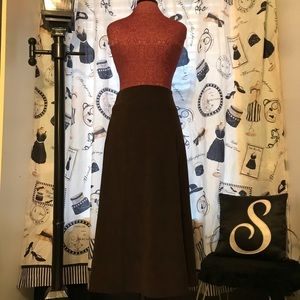 Long Brown Skirt by Tribal